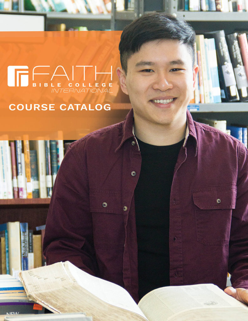 Faith Bible College International Course Catalog