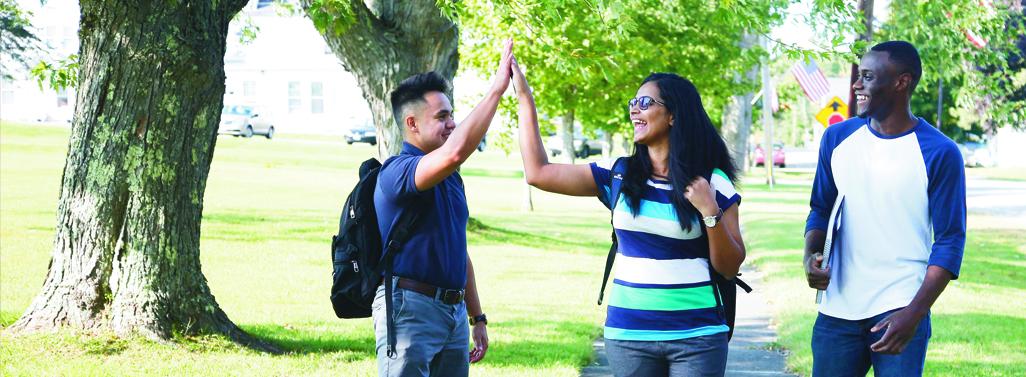 Faith BCI Students High Five